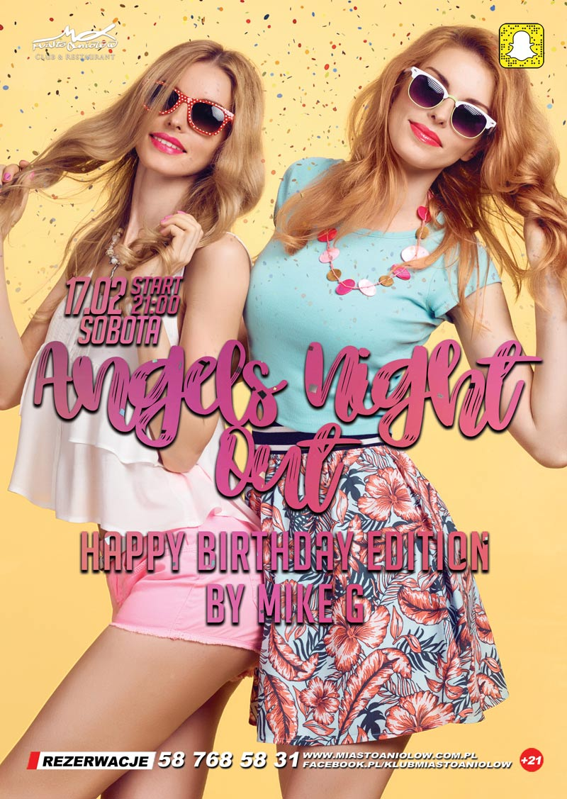 Angels Night Out – Mike G. – Happy Birthday