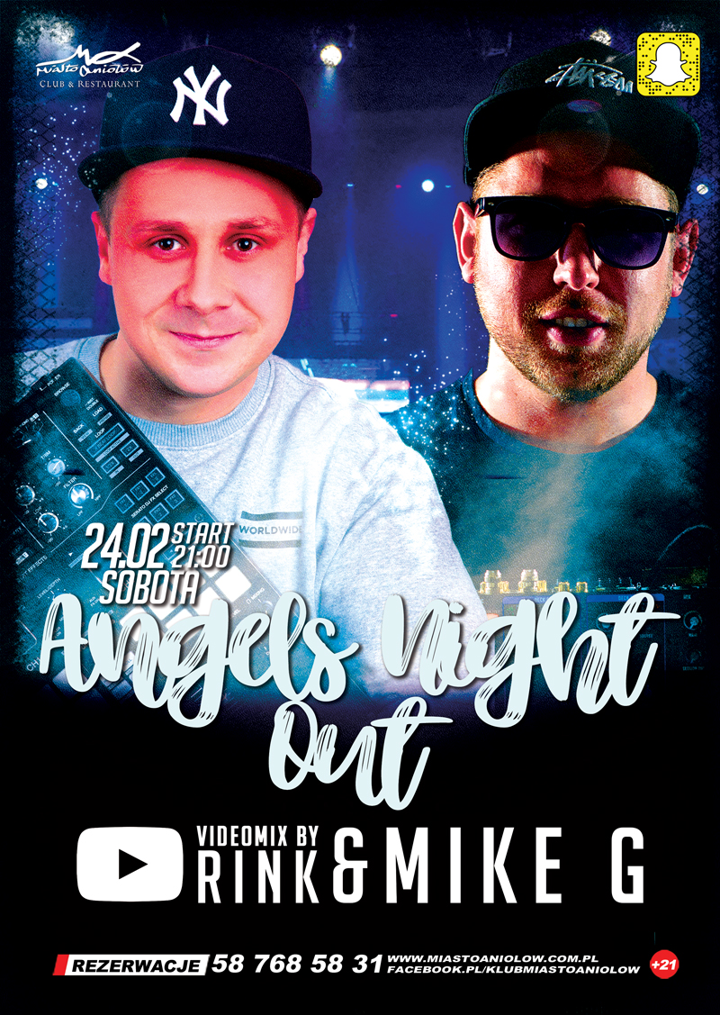Angels Night Out – RINK & MIKE G - Naughty Girls
