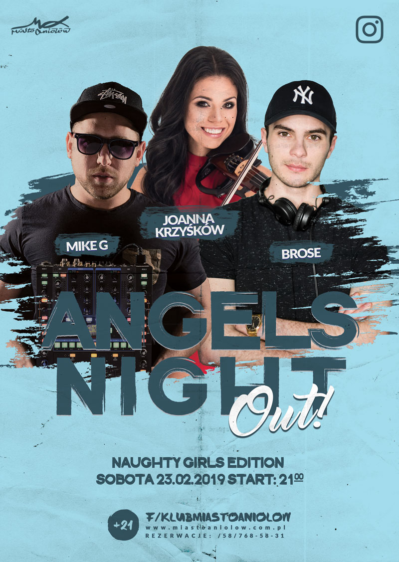 Angels Night Out – Joanna Krzyśków & Brose & MIKE G - Naughty Girls