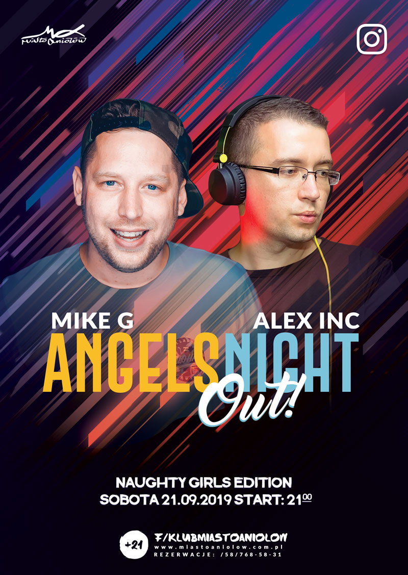 "Angels Night Out - Alex Inc & Mike G.- ""Naughty Girls"" /za 18.05"